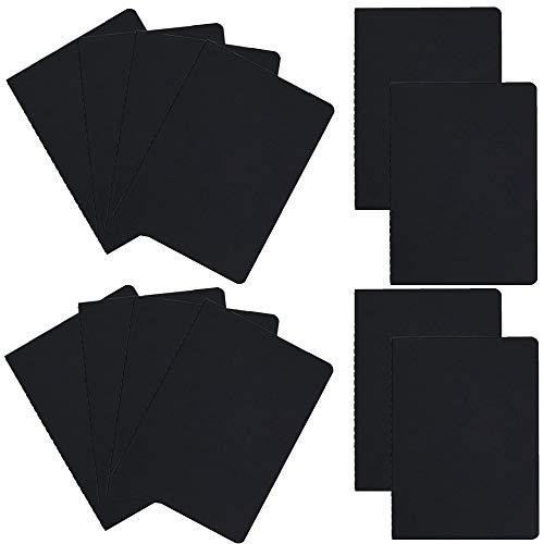 Z-Liant Tagebuch-Set, A5, 12 Stück schwarz -