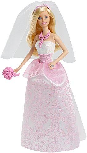 Barbie Mattel CFF37 - Braut - Blumensträuße Schuhe