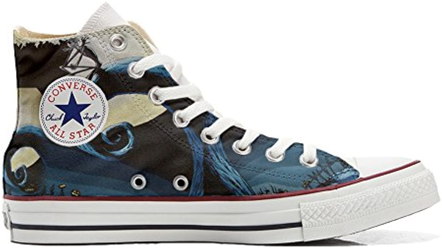 Converse All Star Customized Unisex   Personalisierte Schuhe (Handwerk Produkt) Abstract Art