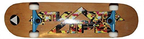 SkateLife Profi Skateboard Komplettboard Script 8.5 inch mit Venture Achsen - Special Edition mit KOSTON Kugellagern Habitat Skateboard Komplett