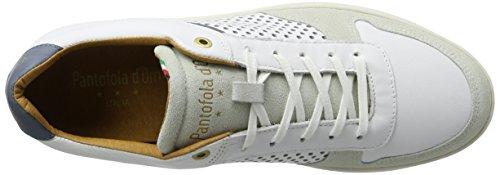 Pantofola d'Oro Auronzo Uomo Low, chaussons d'intérieur homme Blanc (Bright White)