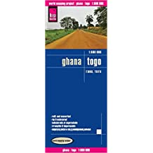 Reise Know-How Landkarte Ghana, Togo (1:600.000): world mapping project