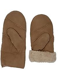 HEITMANN 100/% Lammfell Handschuhe F/äustlinge Echt-Leder Damen NEU