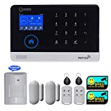 JC Wireless GSM & WIFI Security Alarm System, Home and Business RFID Burglar