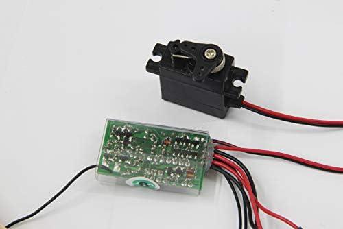 Jamara Jamara060006 27.255 MHz récepteur avec contrôle et 6 Servo canal | Magnifique