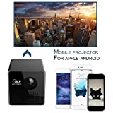 SLB Works Brand New Mini 1080P Wifi Full HD LED Projector DLP WL-P1 Portable Home Movie Theater EW