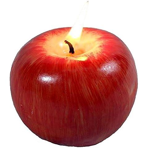 specool regalo di natale Emulational mela fragrante candela regalo di natale 'Eve m