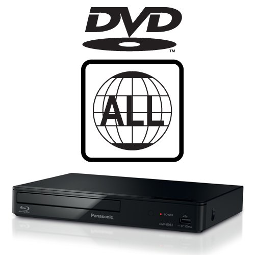 41bKOwop mL. SS500  - Panasonic DMP-BD84EB-K Smart Blu-ray Player MULTIREGION for DVD