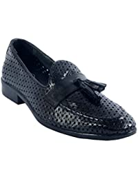 Urban Nation Breathable Perforated Leather Crafted Slip On