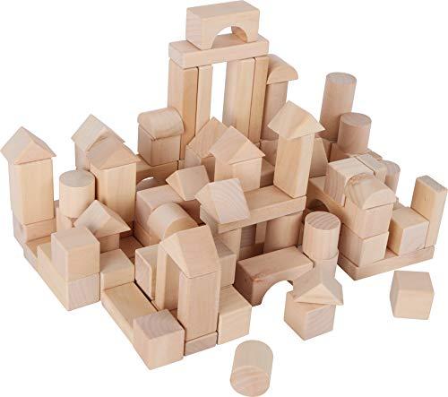 Lage Small Foot Company 7073, Sacco con Cubetti per Costruzioni Giochi per Piccoli Ingegneri 9 x 3 x 1 cm