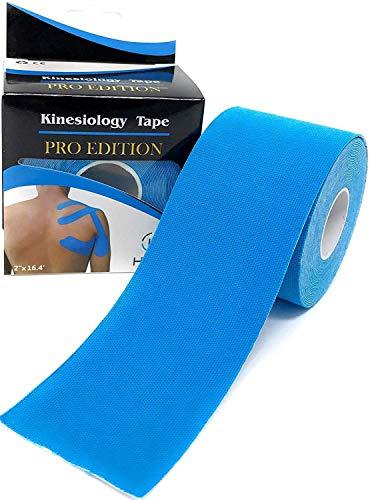Eranqo Waterproof Kinesiology Tape (5 m X 5 cm) Latex free Breathable Sports Tape