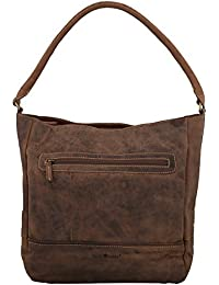 Greenburry Vintage Sac à main - porté épaule cuir 33 cm braun