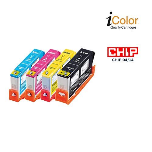 iColor i Color: ColorPack HP (ersetzt HP 364XL BK/C/M/Y) (kompatible Druckerpatronen HP)