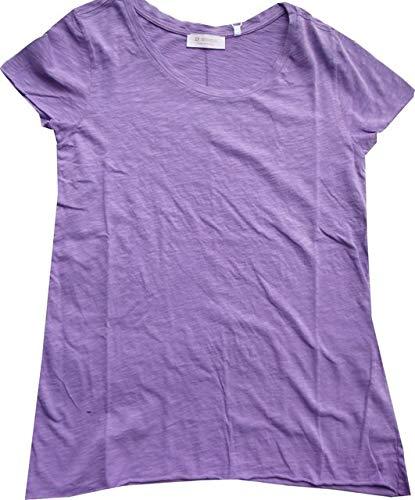 Royal Purple T-shirt (rich&royal T-Shirt Lavender Purple 1/2Arm lässige Passform Slub Shirt, Größe:M)