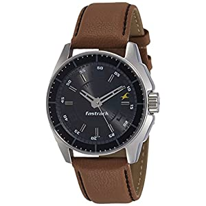 Fastrack Black Magic Analog Black Dial Men's Watch - NE3089SL05