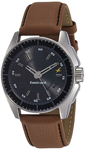 fastrack black magic analog black dial men's watch - ne3089sl05 Fastrack Black Magic Analog Black Dial Men's Watch – NE3089SL05 41bKRTIkp L