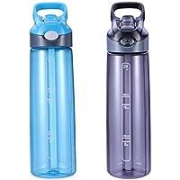 BESTONZON 750ml Wasserflasche, perfekt für Sport, Fitness, Yoga, natürliche Gesundheit Vorteile, einfache 1-Klick... preisvergleich bei billige-tabletten.eu