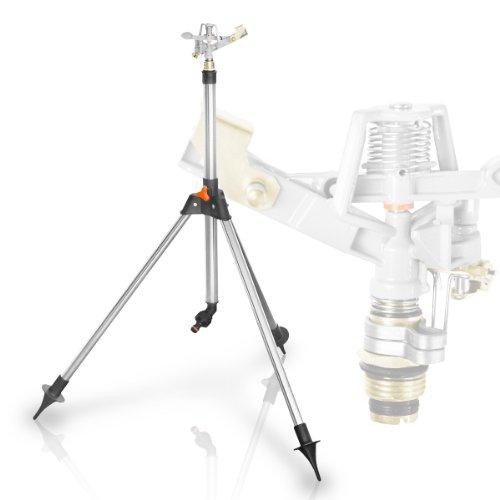 Teleskop-Stativ Gartensprenger Sprinkler, Messing, Rasensprenger Kreisregner Sprenger