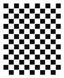 FoLIESEN Fliesenaufkleber für Bad und Küche - 20x25 cm - Mosaik schwarz-weiß - 23 Fliesensticker für Wandfliesen