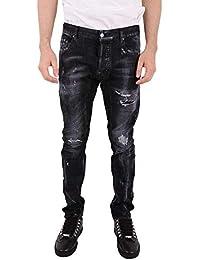 DSQUARED2 Jeans Uomo S74lb0397s30357900 Cotone Nero 2451a7419600