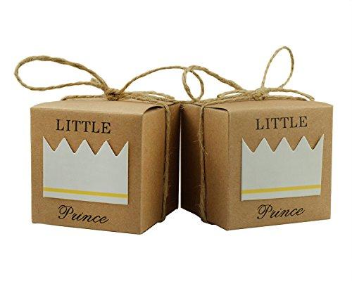 Tomkity 50 pz scatole per confetti scatoline carta bomboniere portaconfetti per matrimmonio nascita comunione