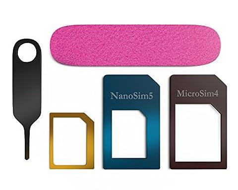 Sim Karten Adapter Nano zu Micro A Nano-SIM to Standard