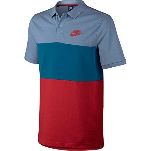 Nike NSW Pq Matchup Clrblk Poloshirt für Herren, Gr. M XL Blau (Work Blue/Industrie-Blau/T Preisvergleich