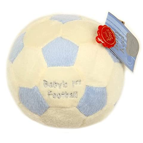 Fancy Classic Collection BACK IN! Lovely soft 12cm 'Baby's 1st Football'
