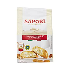 Sapori Cantuccini 250 g (Pack of 3)