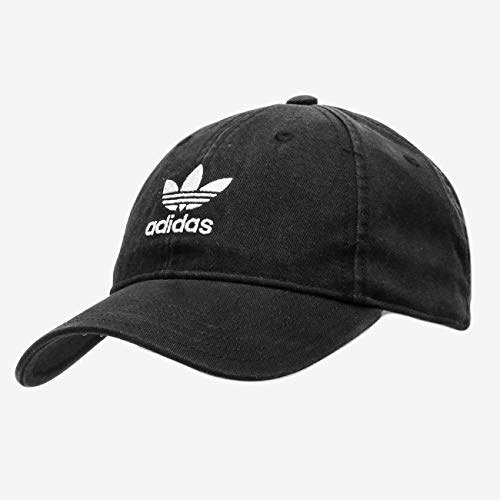 adidas Herren Adicolor Washed Baseball-Cap, schwarz/weiß, FR Unique (Taille Fabricant : OSFM)