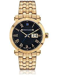 Chrono Diamond Reloj con movimiento cuarzo suizo Man 10620E Nestorius