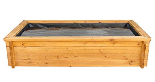 Gartenteich Hochteich 180x100cm mit Teichfolie