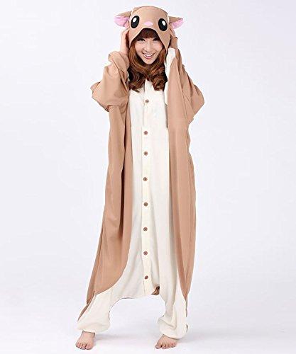 Honeystore Jumpsuit – Pyjama Cosplay Fliegendes Eichhörnchen - 4