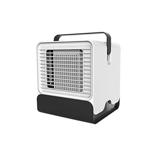 TWISFER Luftkühler Tragbarer Nachtlichtventilator Mini-Klimaanlagenventilator, Kleiner USB-Raumluftreiniger-Luftbefeuchter Für Raumbüro-Nachttisch