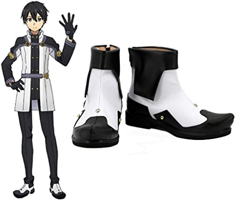 Sword Art Online ordnungszahl Maßstab Kirigaya Kazuto Kirito Cosplay Schuhe Stiefel Custom Made