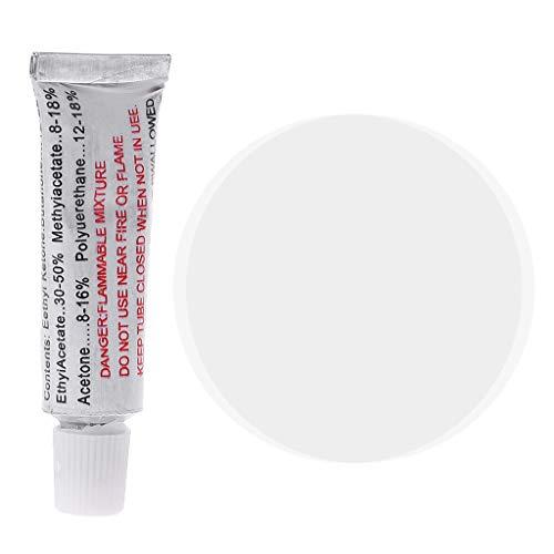 Forgun - Kit di Riparazione per forature in PVC, con Colla, materassino Gonfiab