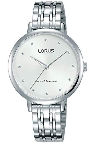 Lorus Woman Reloj para Mujer Analógico de Cuarzo con Brazalete de Acero Inoxidable RG275PX9