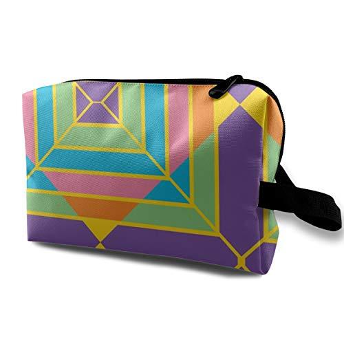 er Jahre Mod-Boxen 2_14241 Tragbare Reise-Make-up-Organizer Multifunktions-Taschen für Frauen ()