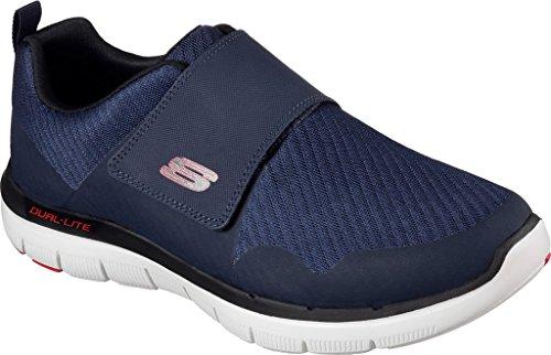 Skechers Flex Advantage Gurn, Sneaker Uomo Blu