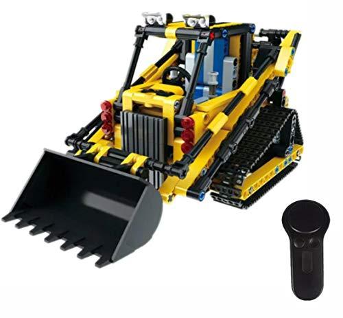 RC Auto kaufen Kettenfahrzeug Bild: Modbrix Technic Radlader 2,4 Ghz RC Bausteine Delta-Lader, 512 Teile*