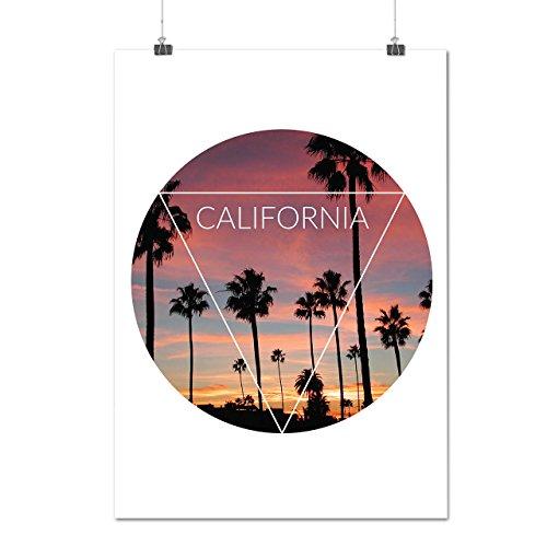city-palm-urban-california-sun-spring-matte-glossy-poster-a3-42cm-x-30cm-wellcoda