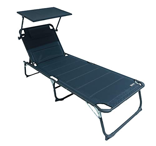 HOMECALL Lounger, Gris Antracita