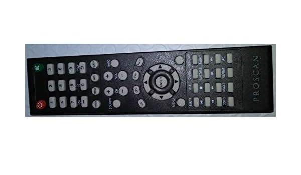 PROSCANE PLDEDV3283-B PLDEDV3283 Remote Control 20222