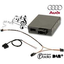39818fistune DAB pour Audi A1, A6, A7, Q3–avec radio RMC/basse II (2)
