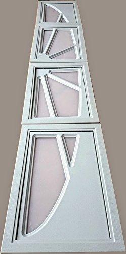 Fenster sektionaltore,Lichtbänder Tore,Fenster für Tore Kunststofffenster weiß!