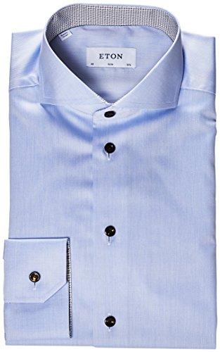 Eton Tumba Hemd slim fit Blau