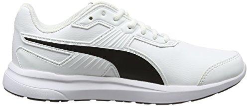 Puma escaper SL, Chaussures de Cross Mixte Adulte, Noir, 43 EU Blanc (Puma White-puma Black)