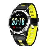 H&Y Fitness Tracker, Farbe Schirm-intelligentes Armband mit Pedometer, Herzfrequenz/Blutdruck/Schlafüberwachung, IP68 Wasserdichte Uhr