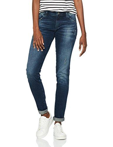 Mavi Damen Skinny Jeans Serena, Blau (Dark Brushed Glam 24720), W27/L34 (Mavi Jeans Damen)