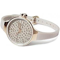 HOOPS Uhren Chèrie Diamond Gold Damen Uhrzeit Grau - 2483lgd-04